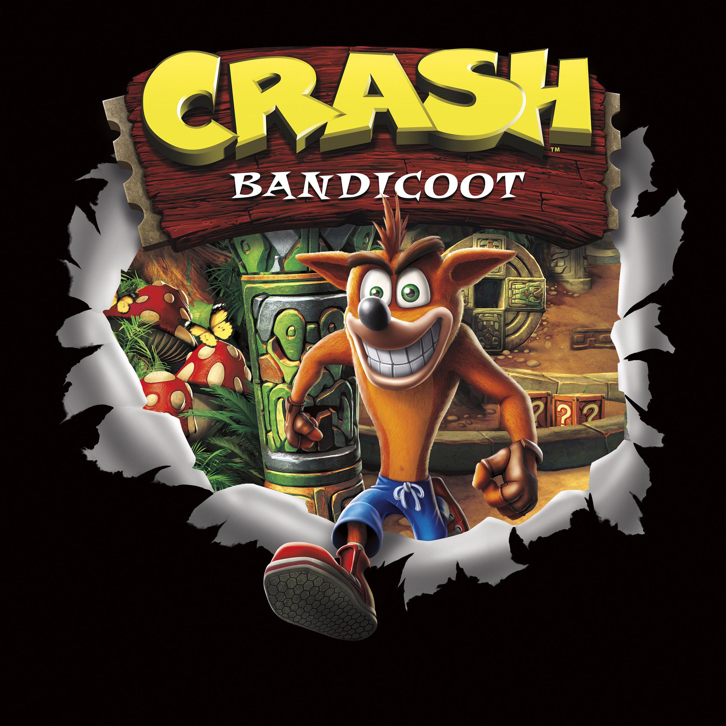 Crash Bandicoot Cover Art