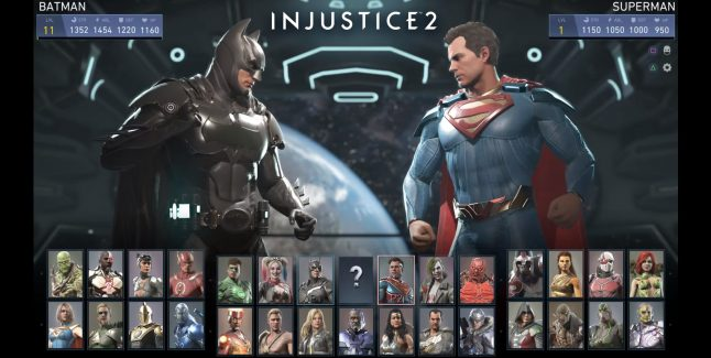 Injustice 2 Unlockable Characters