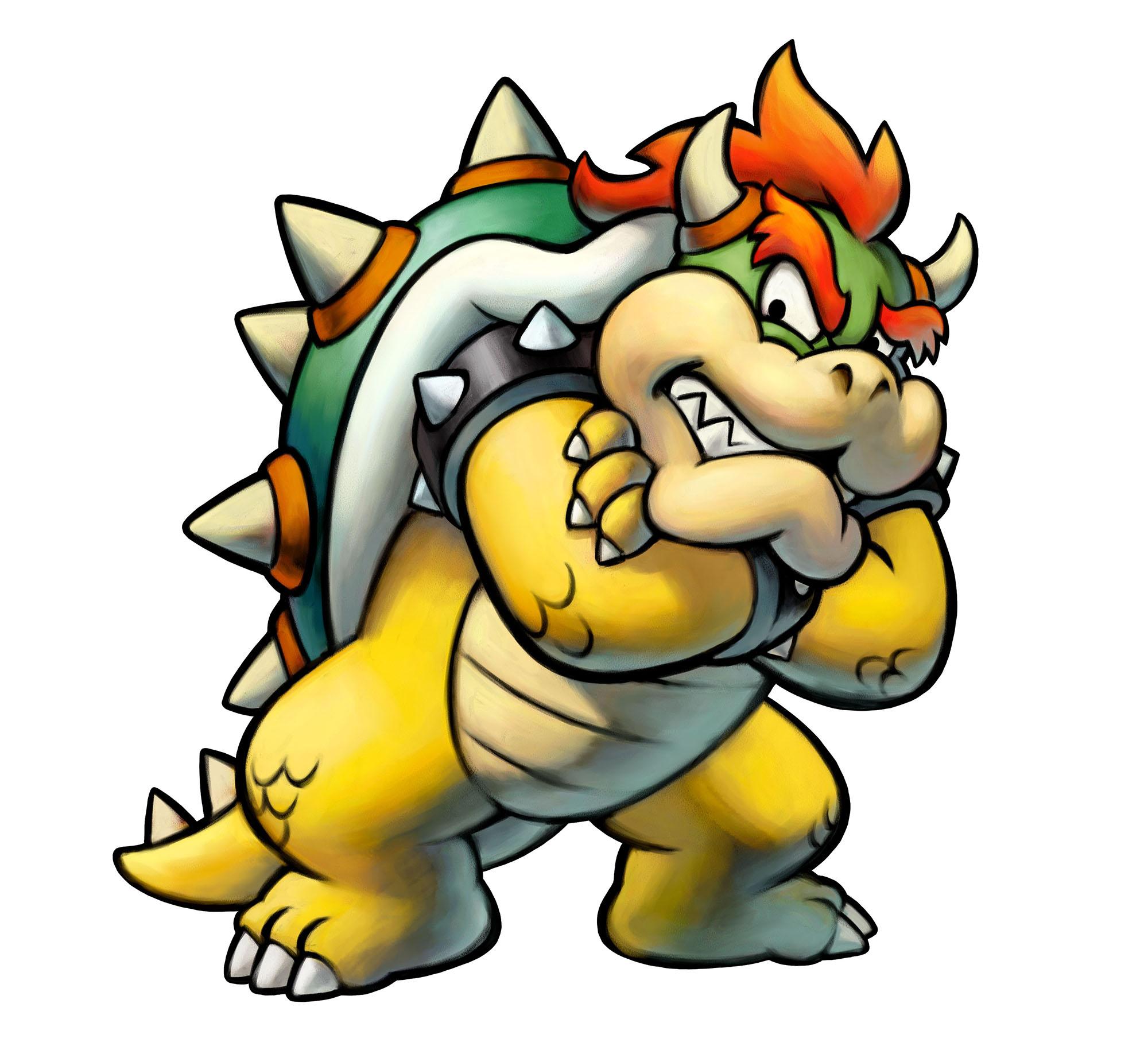 Mario Luigi Superstar Saga Bowser S Minions Art 2