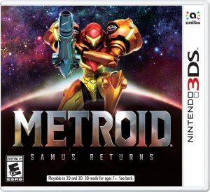 Metroid: Samus Returns Boxart