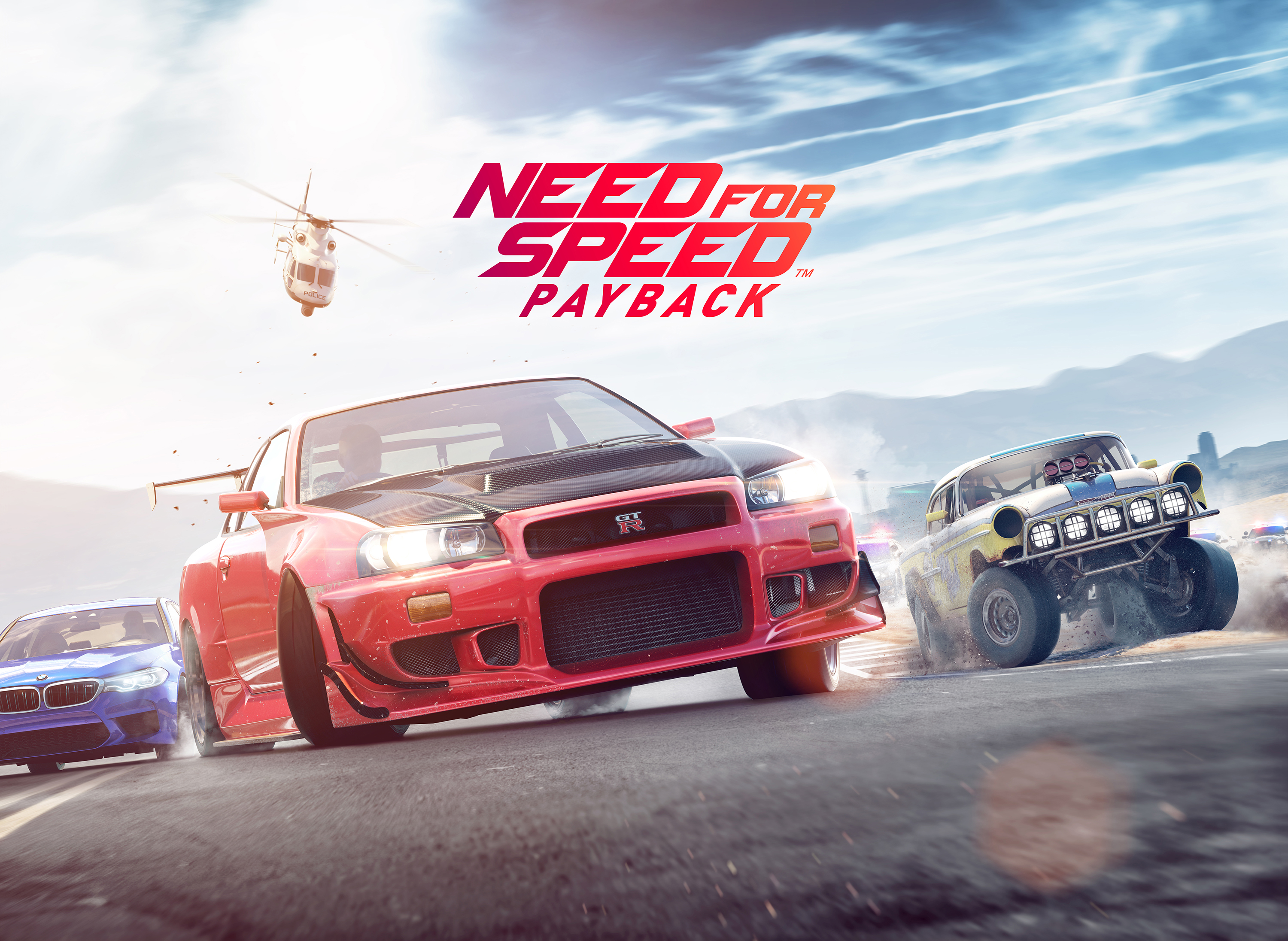 Need for Speed Payback Key Art