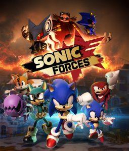 Sonic Forces Key Artwork