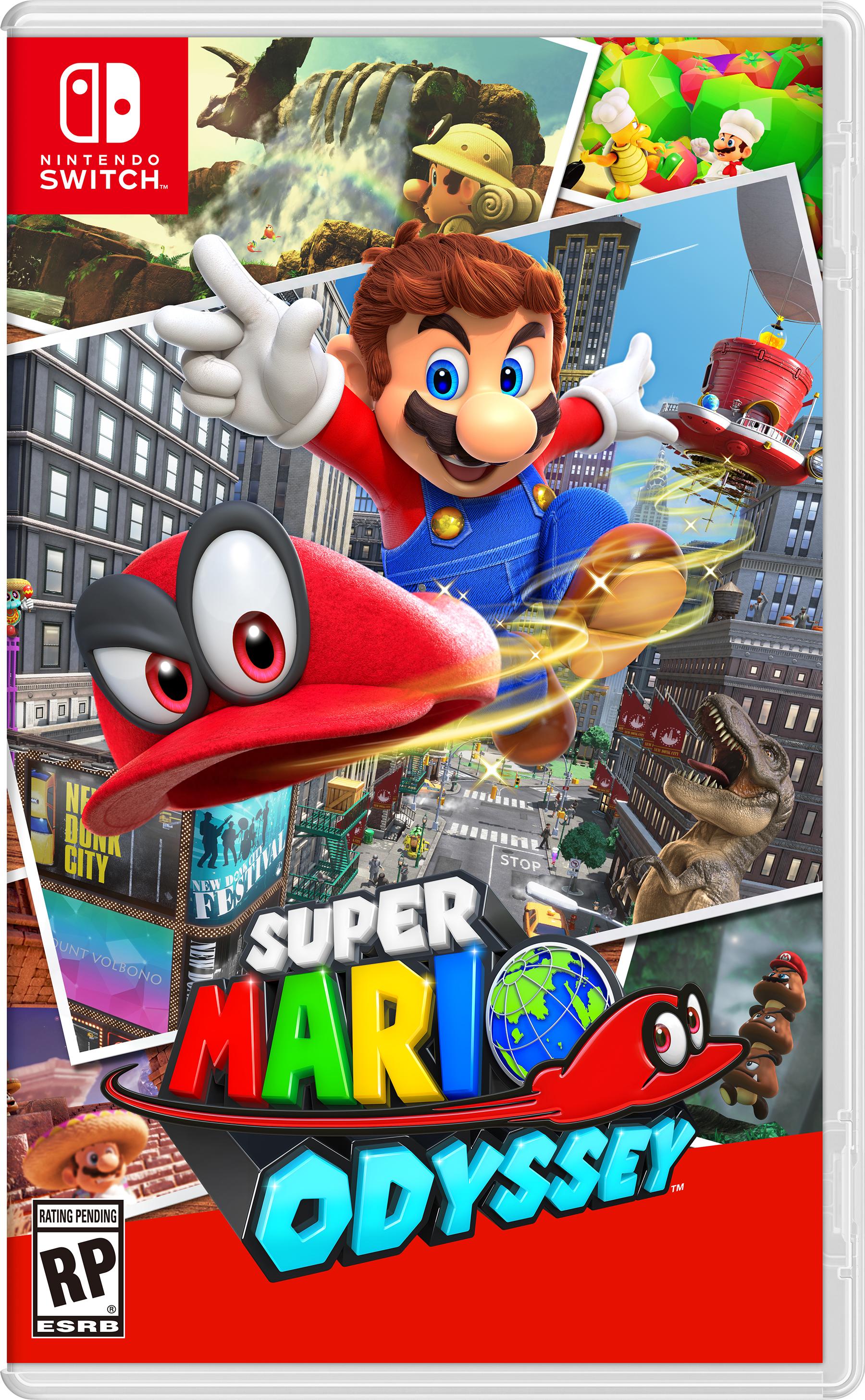 Super Mario Odyssey Screen Box Art