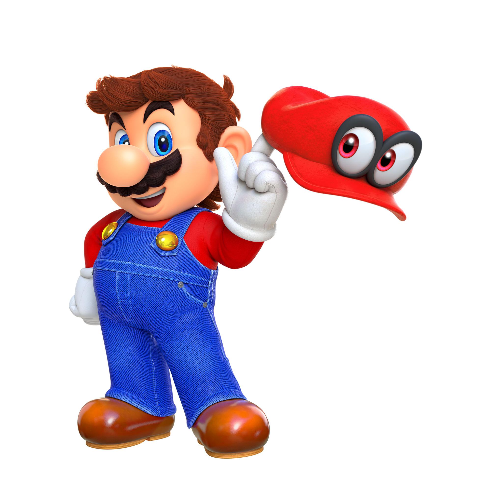 Super Mario Odyssey Screen Render 1