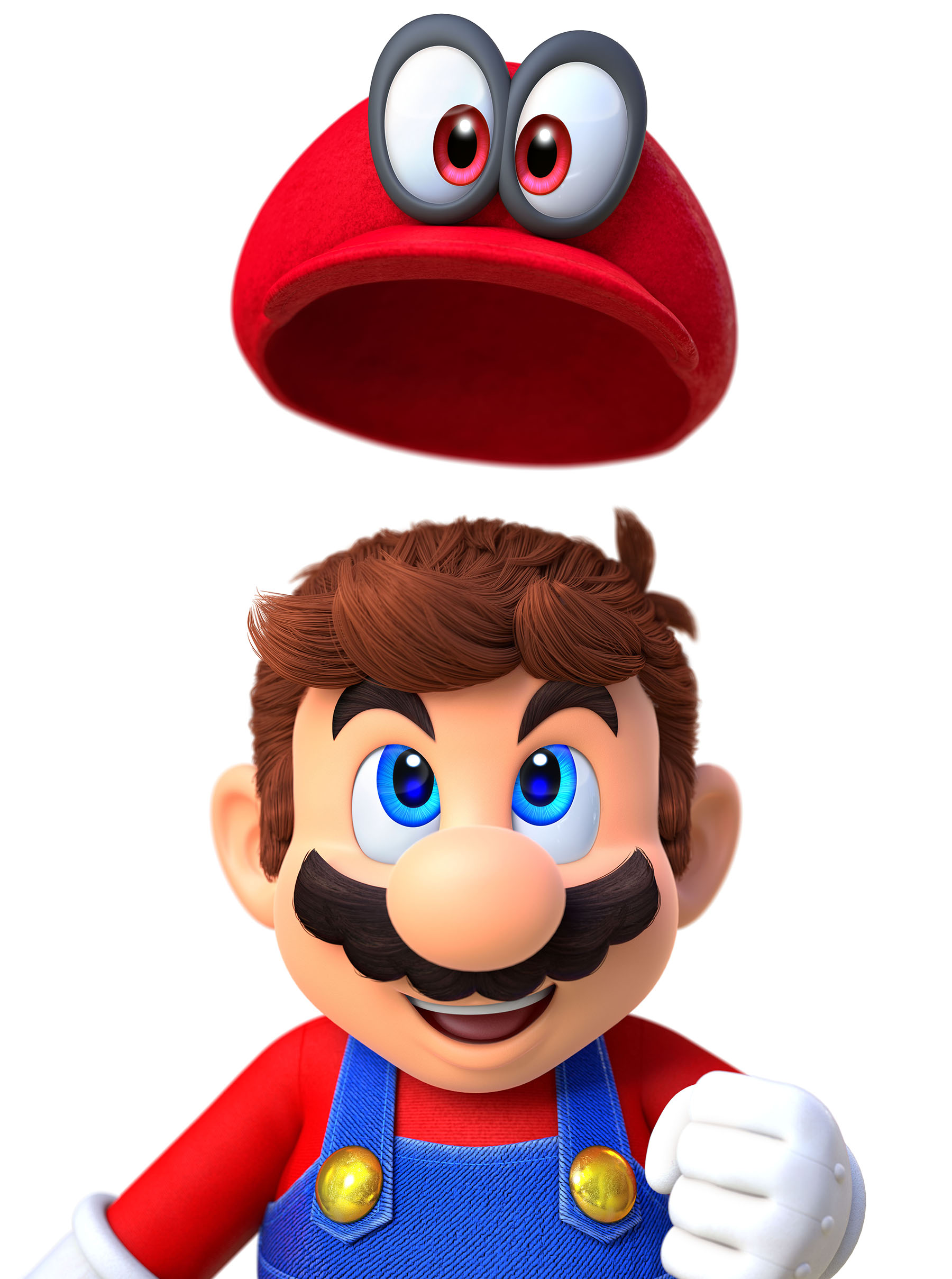 Super Mario Odyssey Screen Render 2