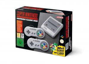 Super Nintendo Classic Mini design for Europe 1