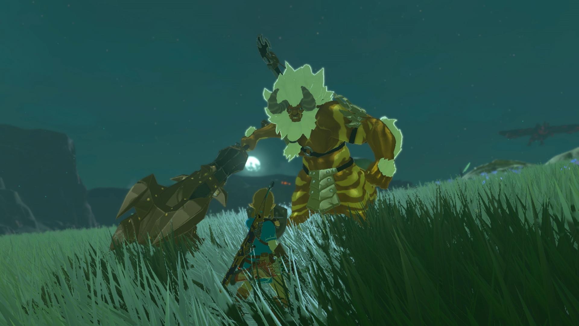 The Legend of Zelda: Breath of the Wild DLC Screen 4