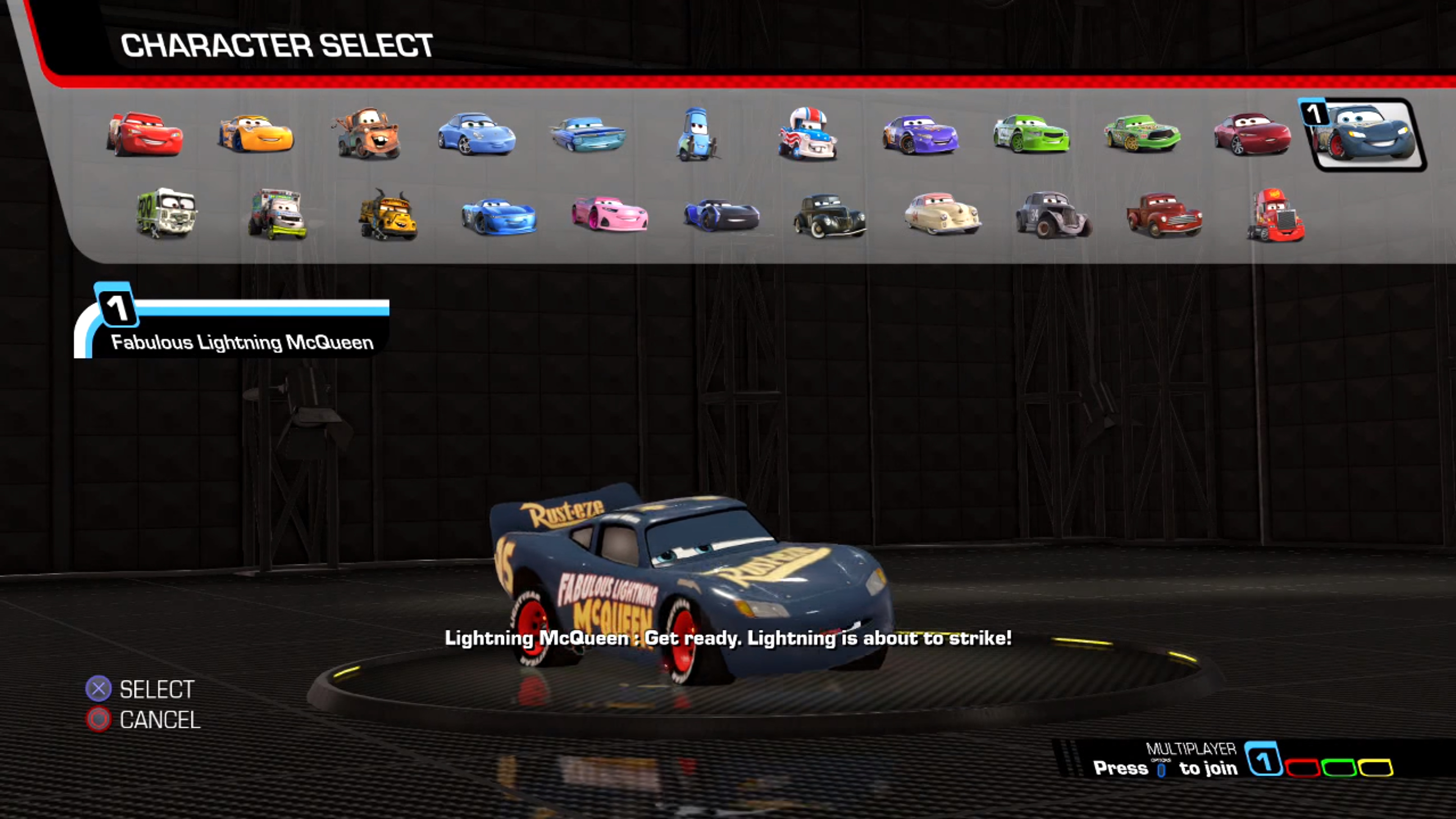 Cars Xbox Game Cheats