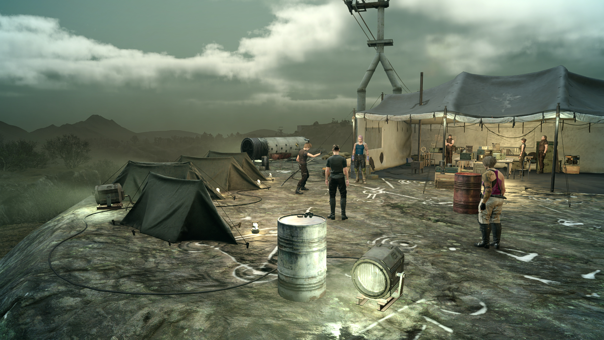Final Fantasy XV Multiplayer Expansion Comrades Screen 2
