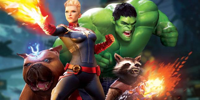 Marvel: Powers United VR Banner