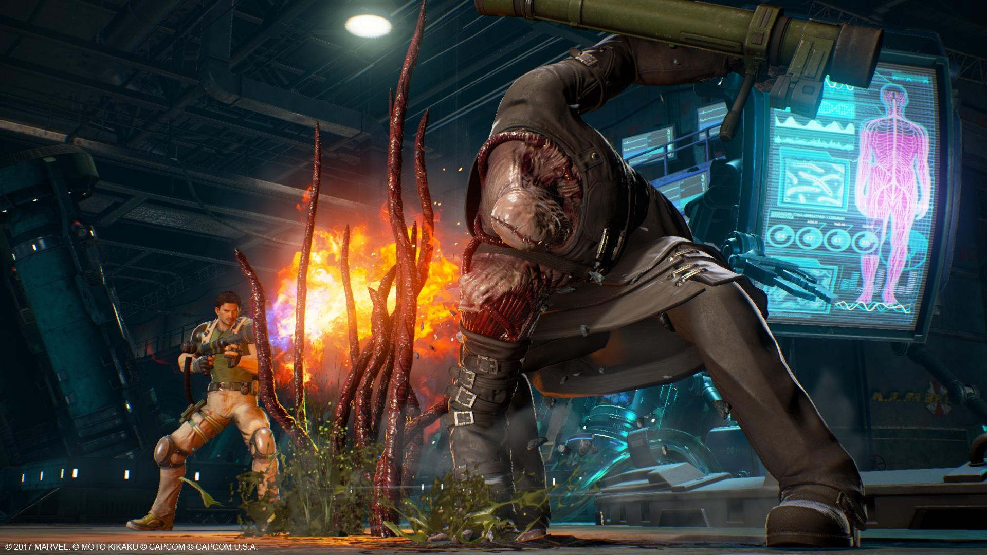 Marvel vs. Capcom: Infinite - Nemesis vs. Chriss