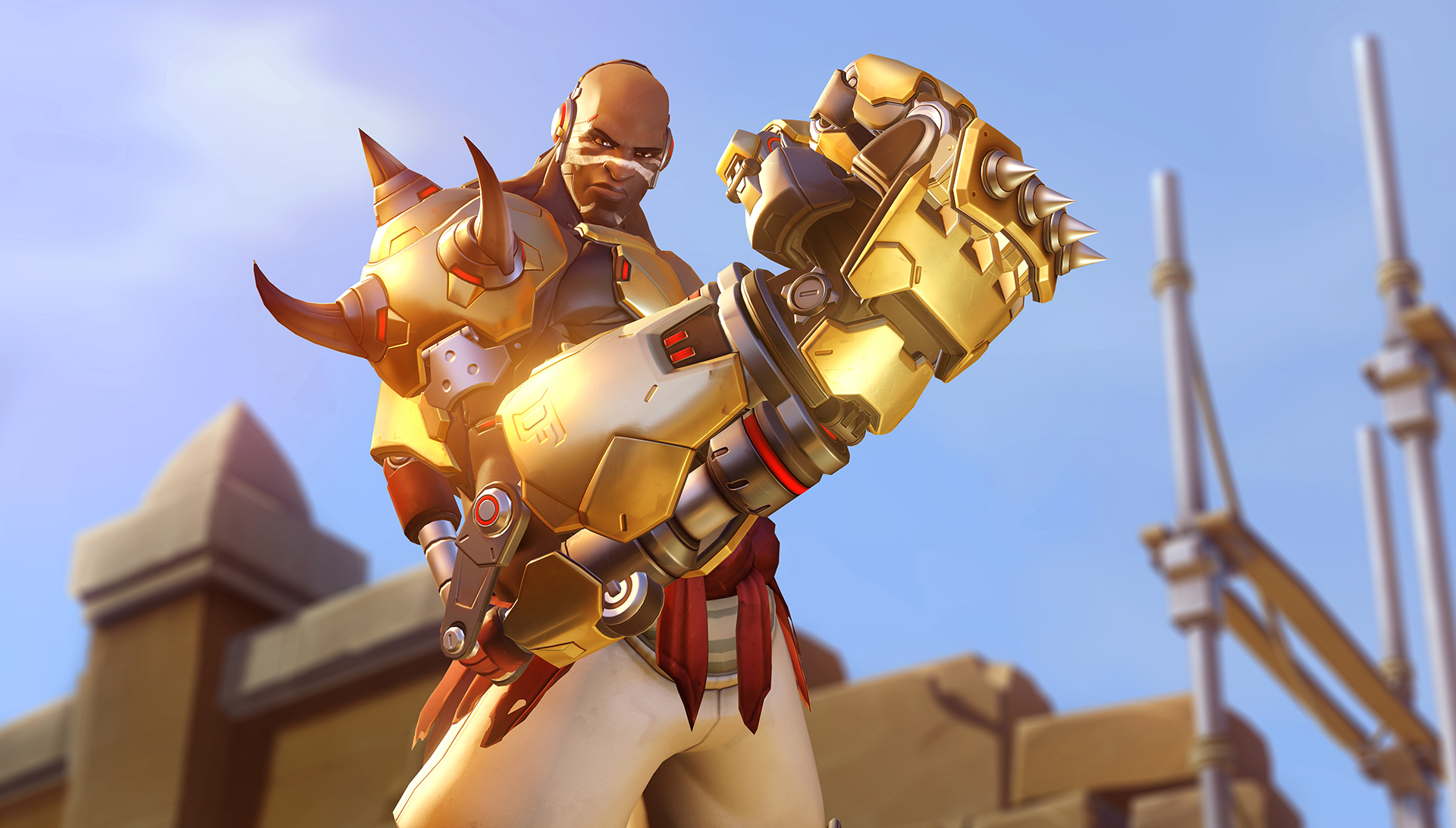 Overwatch's Doomfist Screen 1