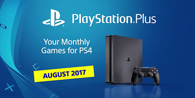 PS Plus August 2017