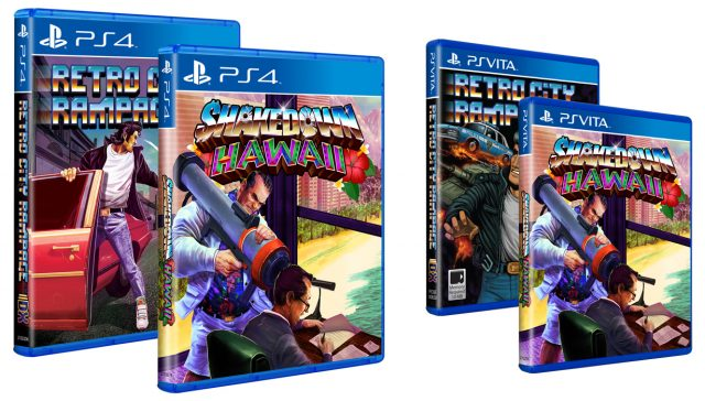 Shakedown: Hawaii PlayStation Packages