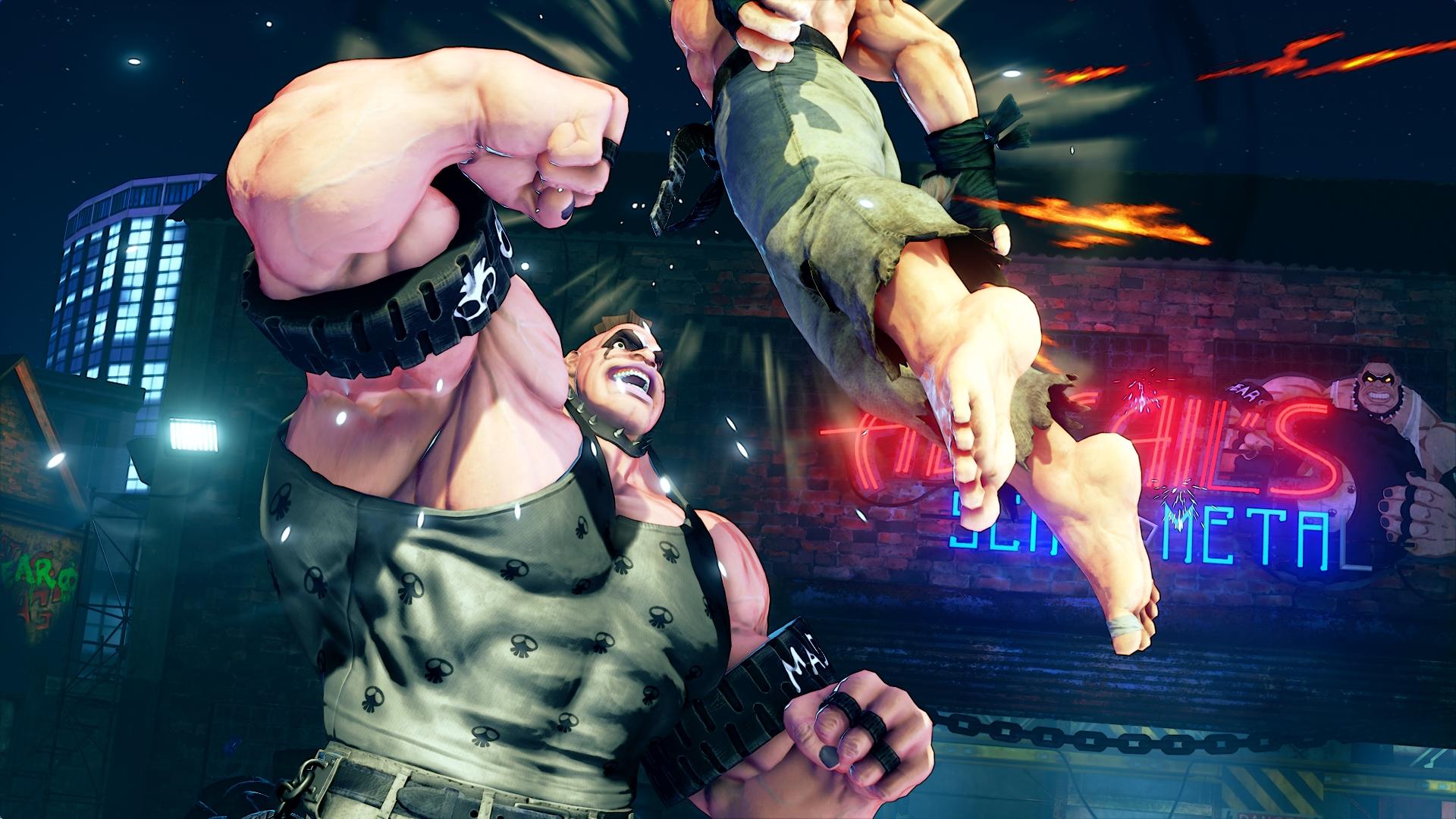 Street Fighter V S Abigail Screen 1