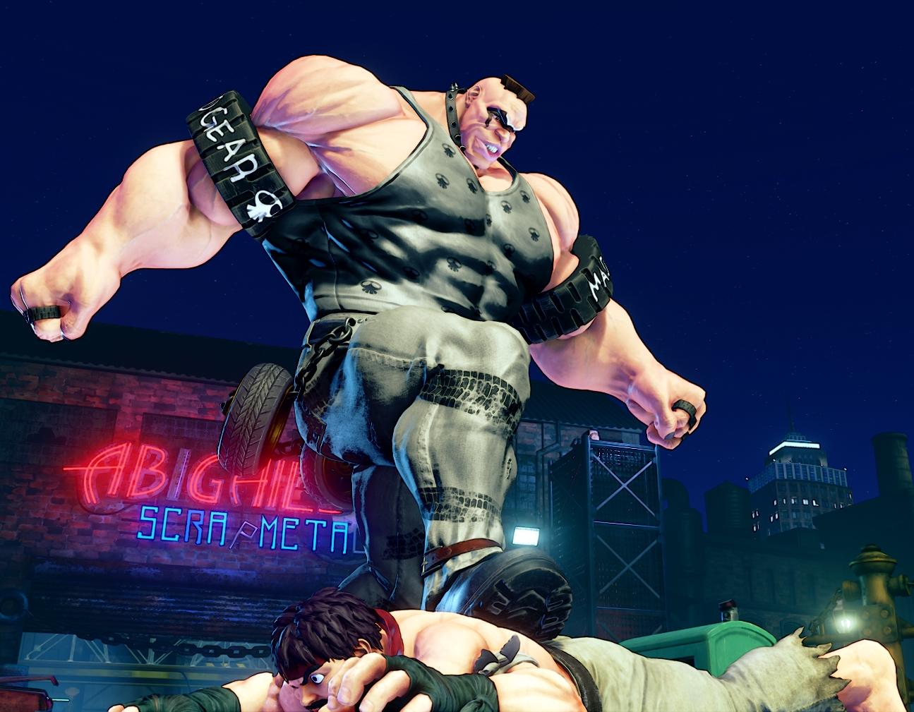 Street Fighter V S Abigail Screen 3