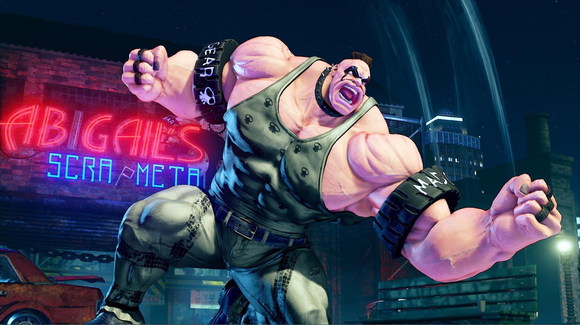 Street Fighter V S Abigail Screen 5