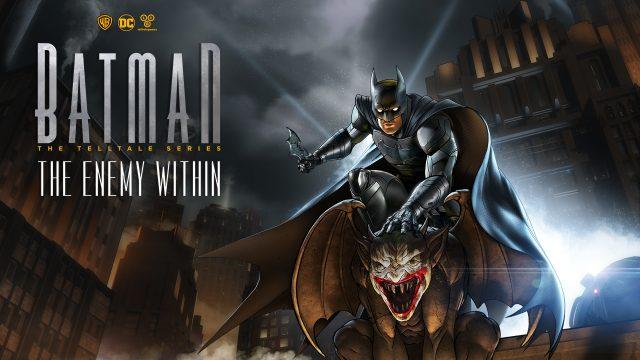 Batman: The Enemy Within – The Telltale Series Key Art
