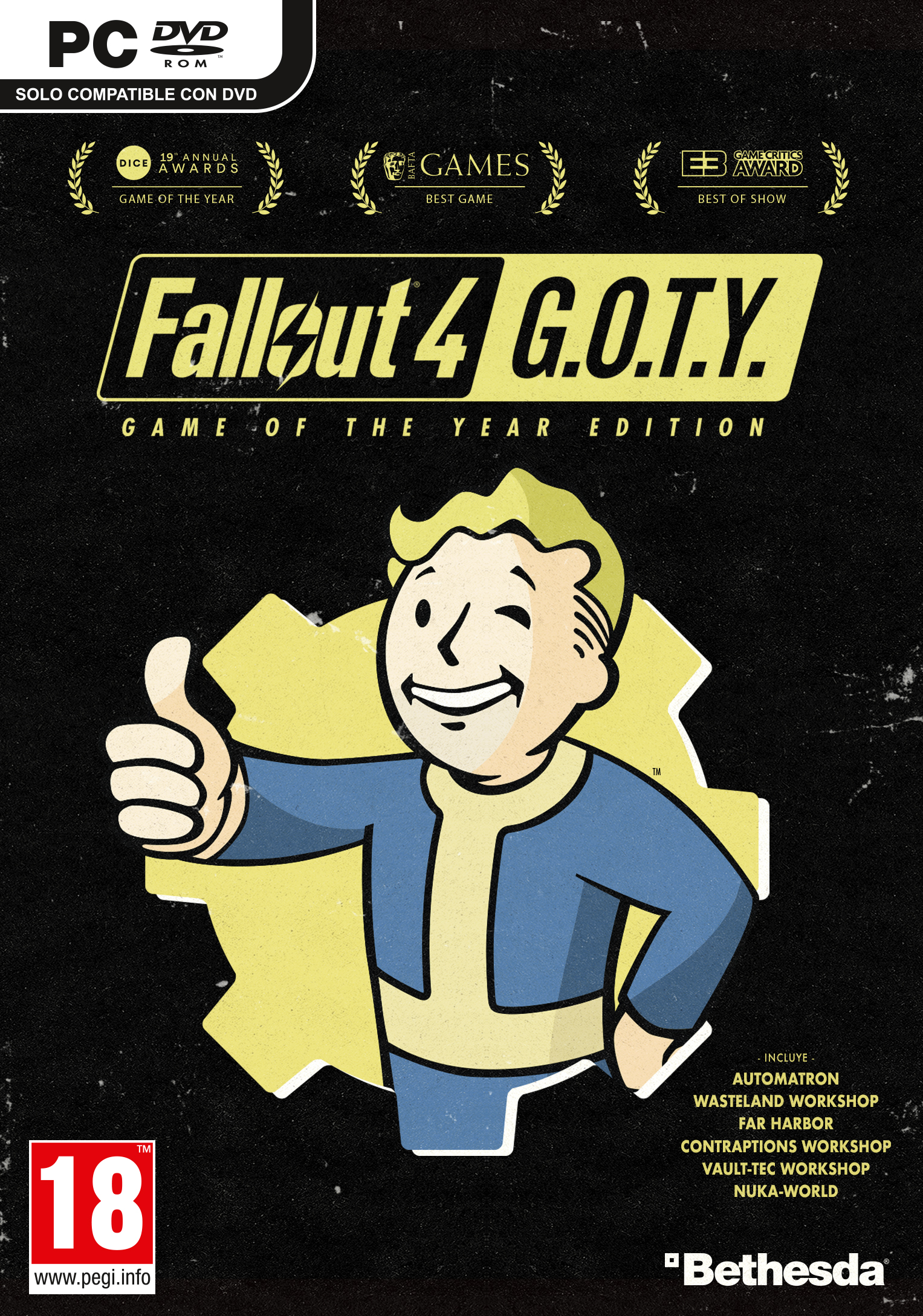 Fallout 4 Game of the Year Edition PC Boxart