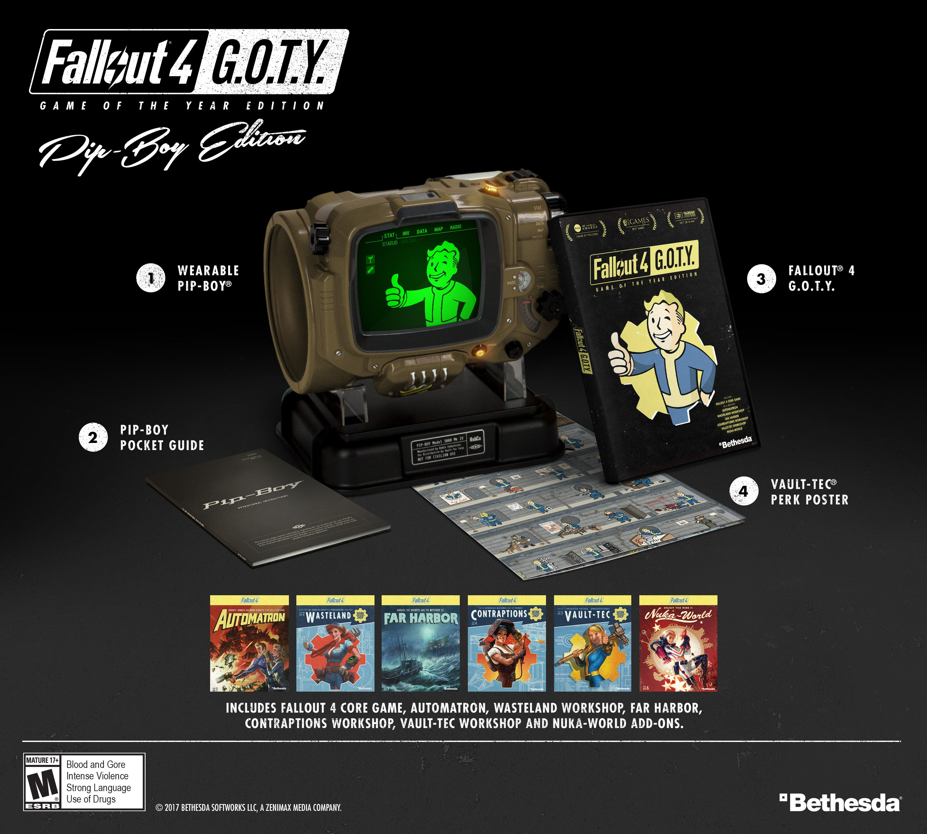 Fallout 4 Game of the Year Edition Pip-Boy Edition