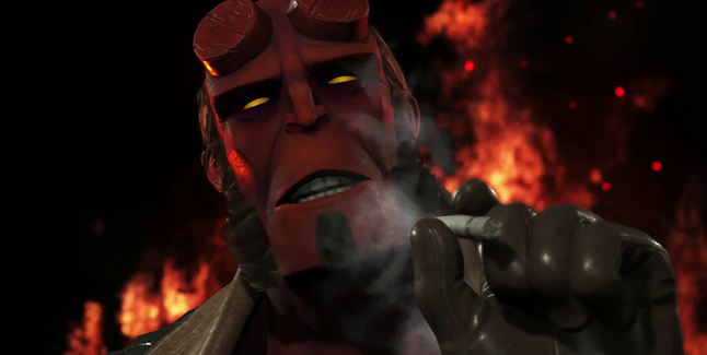 Injustice 2 Hellboy Banner