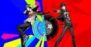 Persona 3 and Persona 5 Dancing Banner