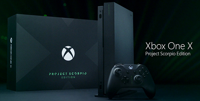 Xbox One X Project Scorpio Edition Banner