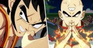 Dragon Ball FighterZ Yamcha and Tien Banner