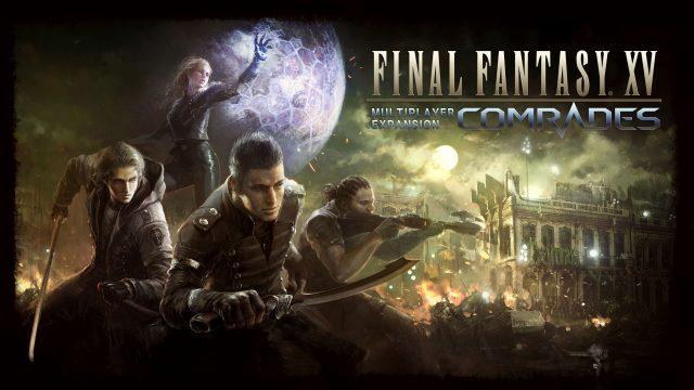 Final Fantasy XV Multiplayer Expansion Comrades Key Visual
