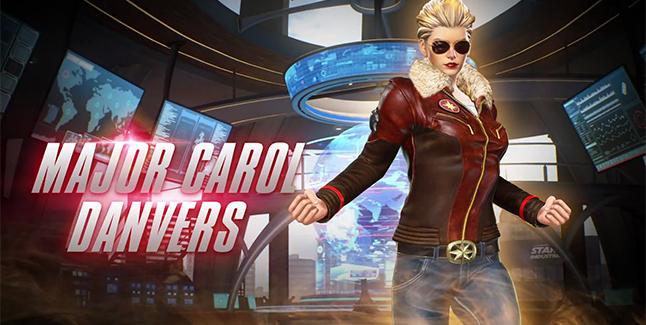 Major Carol Danvers Costume Banner