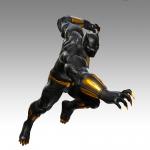 Marvel vs. Capcom Infinite Black Panther Artwork