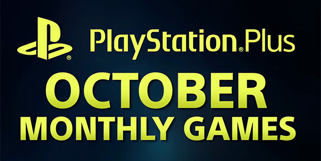 PS Plus October 2017 Banner