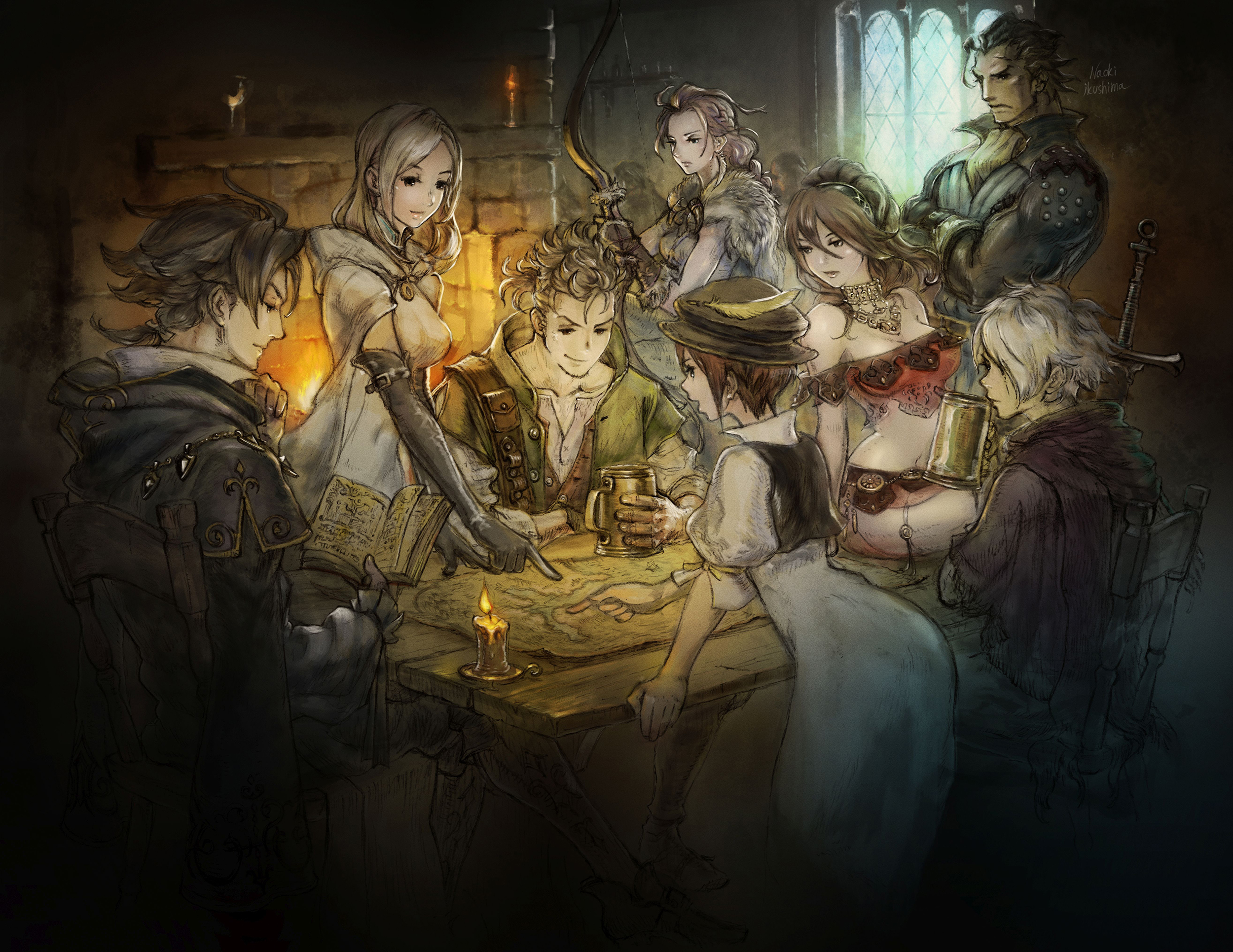 Project Octopath Traveler Art 2