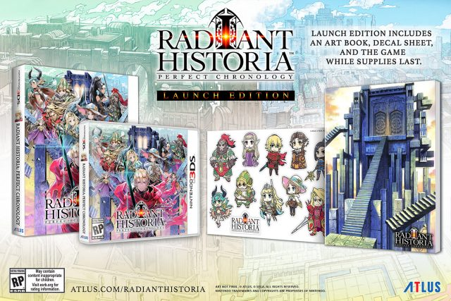 Radiant Historia Perfect Chronology Launch Edition