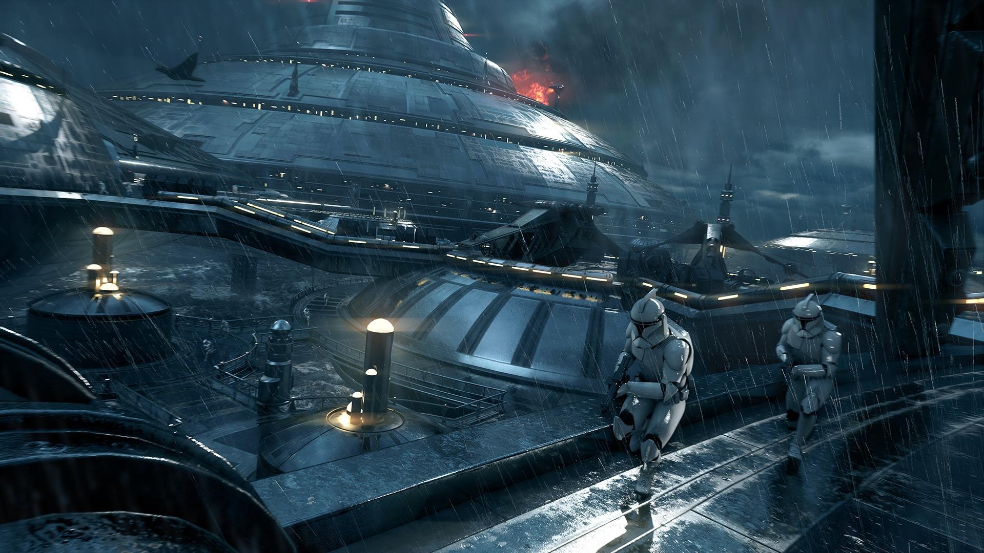 Star Wars Battlefront 2 Kamino Map