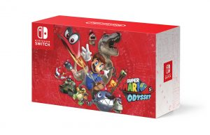 Super Mario Odyssey Switch Bundle 2