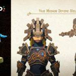 Zelda: Breath of the Wild amiibo Revali helm