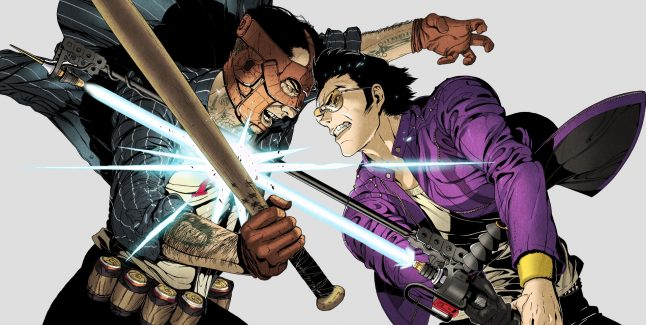 Travis Strikes Again No More Heroes Art 1
