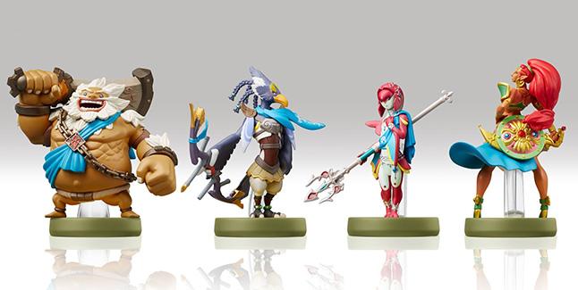Zelda Breath of the Wild Champions amiibo Banner