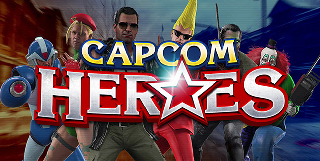 Capcom Heroes Banner