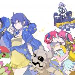 Digimon Story Cyber Sleuth Hackers Memory Key Visual