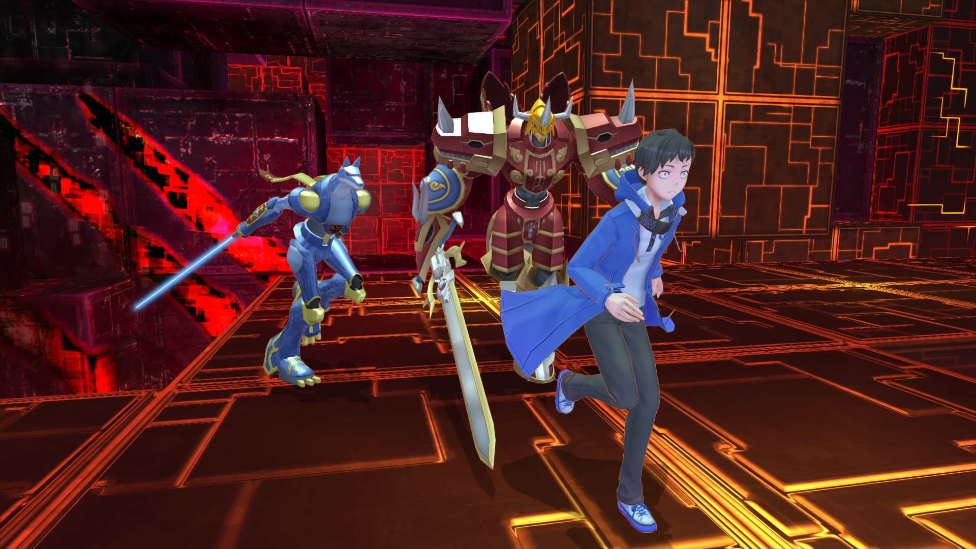 Digimon Story Cyber Sleuth Hackers Memory Screen 21
