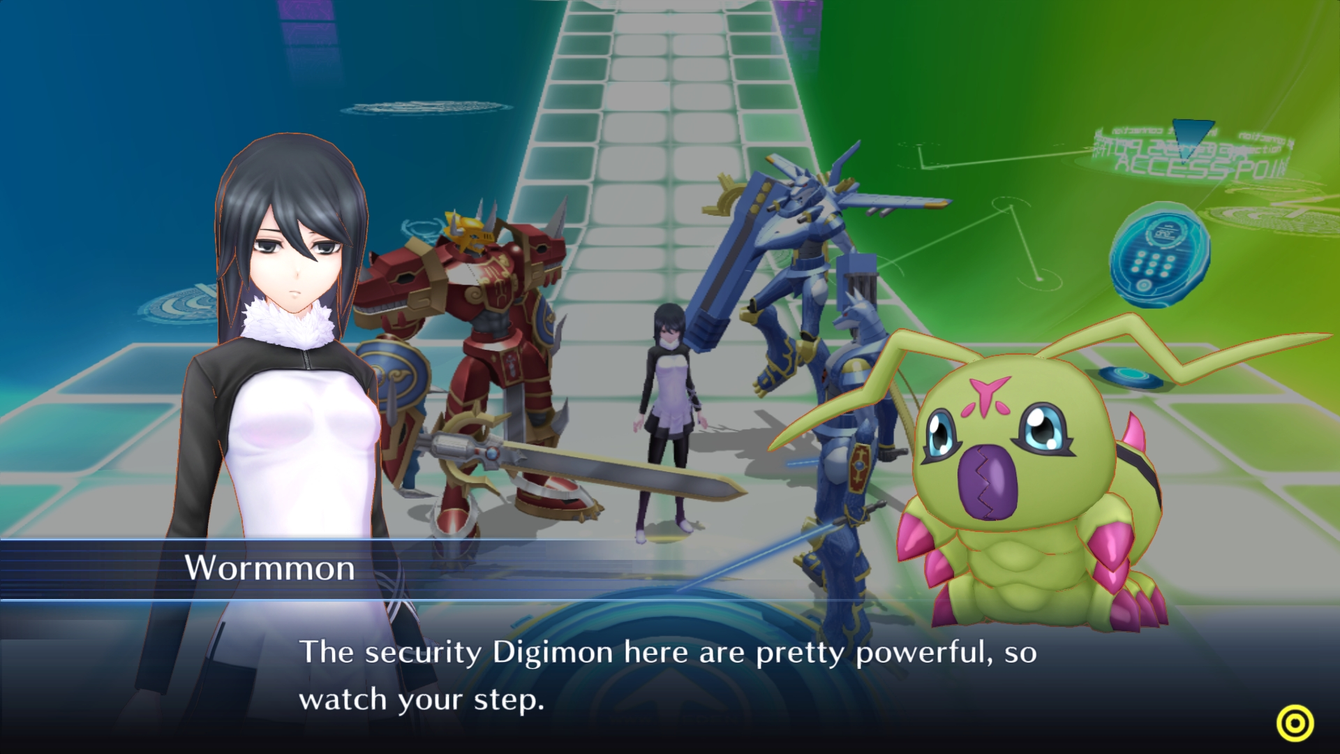 Digimon Story Cyber Sleuth Hackers Memory Screen 4