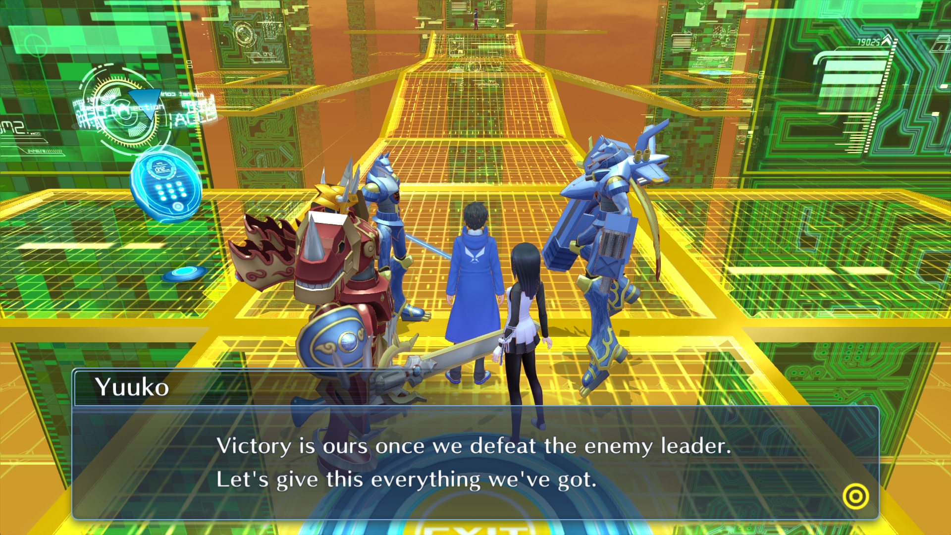 Digimon Story Cyber Sleuth Hackers Memory Screen 7