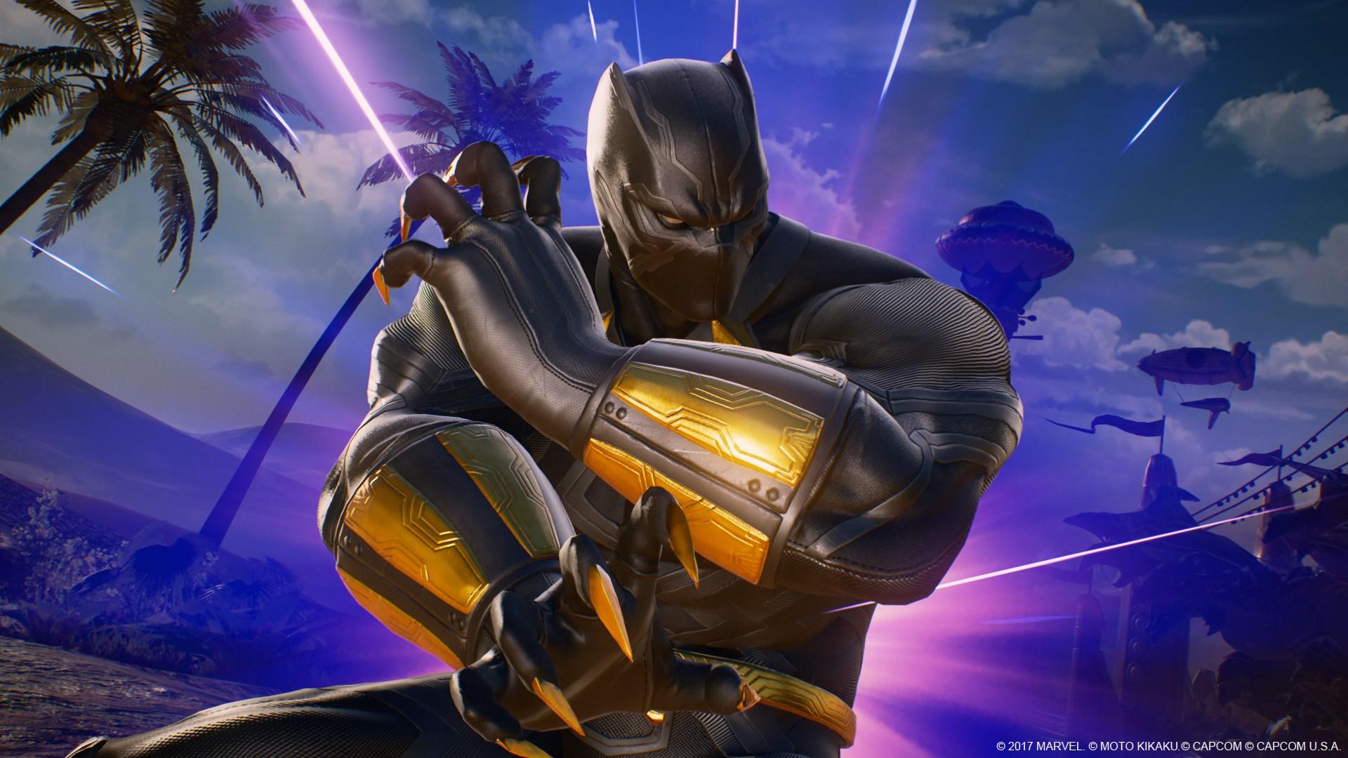 Marvel Vs Capcom Infinite Black Panther Screen 1