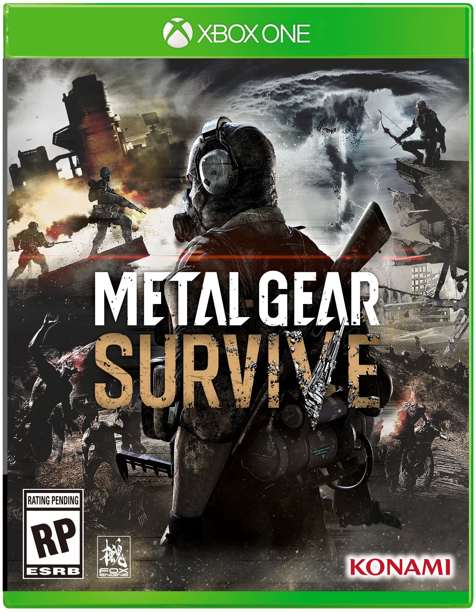 Metal Gear Survive Xbox One Boxart