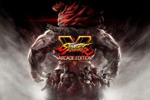 Street Fighter V Arcade Edition Key Visual
