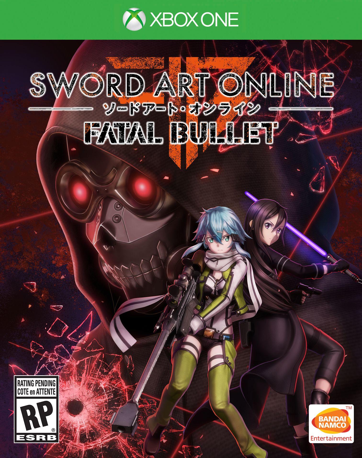 Sword Art Online Fatal Bullet Xbox One Boxart