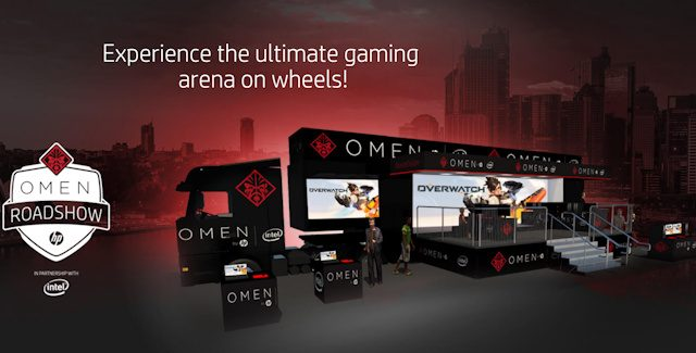 HP OMEN Roadshow in Australia