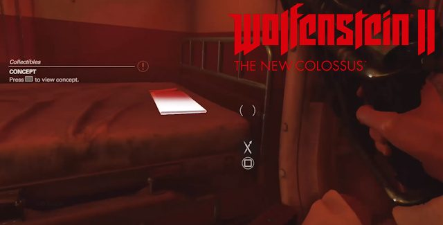 Wolfenstein 2: The New Colossus Concept Art Locations Guide